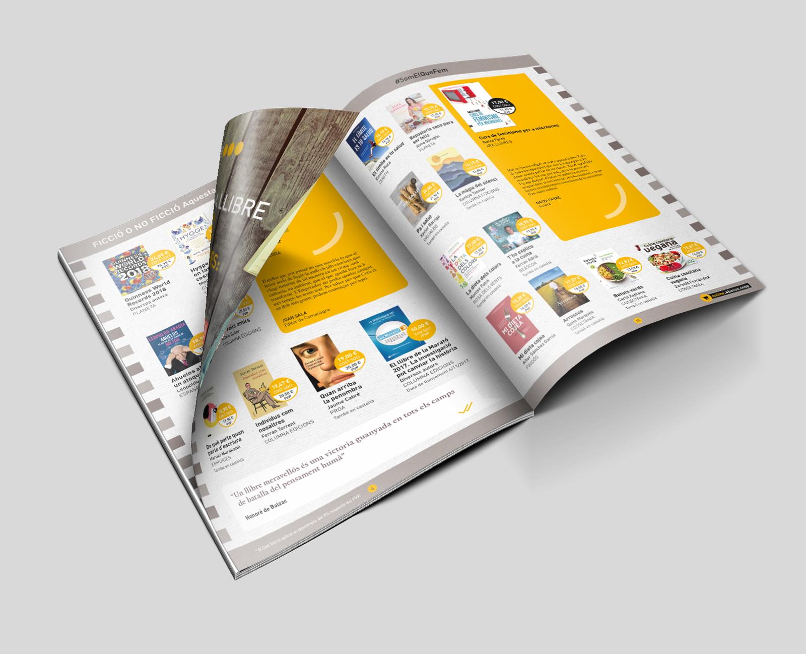 maquetacion catalogo retail abacus